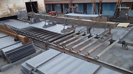 Application and characteristics of LR grade B shipbuilding steel plate