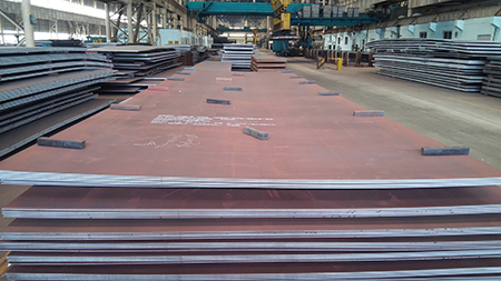 The normalized A516 Grade 70 boiler and pressure vessel steel plate is A516 Gr.70+N steel plate