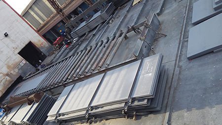 Low alloy S355J2+N hot rolled steel plate