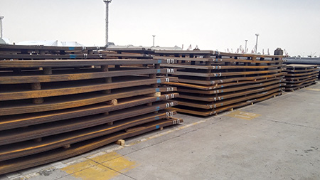 The production technology of JIS SPA H steel corten plate