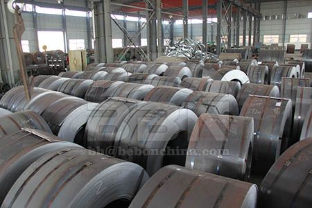 Price of hot rolled S235J2 steel coil in China market on June 18