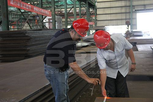 The raw material cost of S960QL steel plate is rising in the short term