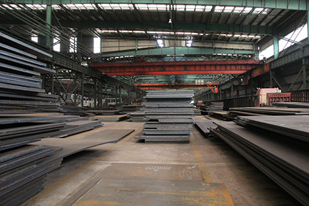 Hot rolled steel boiler plate P355NL2 mechanical properties