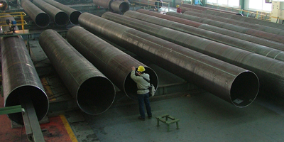 Steel plate for large diameter pipelines