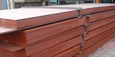 320tons A588 Grade A weather resistance steel plate shipped to Pakistan