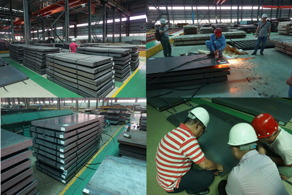 Shipping 1000tons Corten steel plates to Bangladesh