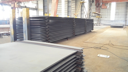 ASTM A131 Grade AH40 marine steel plate for shipbuilding use