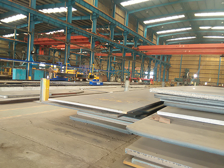 A572 Gr60 low alloy structural steel plate with high strength