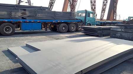 ASTM A572 Grade 55/A572 Gr. 55 Columbium-Vanadium structural steel plate