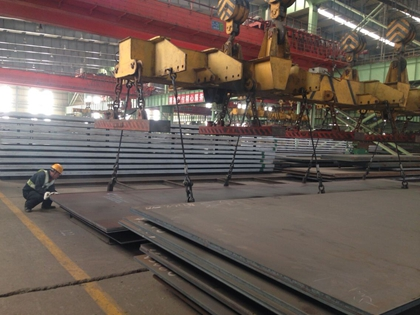 DIN 17102 TStE380 carbon high strength structure steel plates