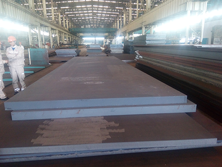 DIN 17102 WStE380 carbon high strength structure steel plates