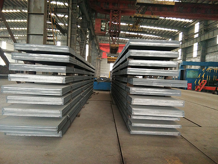 EN10025-4 S420ML hot rolled structural steel plates