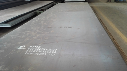 GB/T1591/GB/T3274 Q345D low temperature impact steel plates