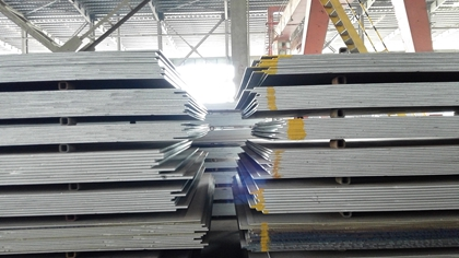 GB/T 1591 Q390C hot rolled high strength steel plates