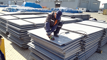 China GB/T 4171 Q295NH atmospheric corrosion resistant steel plate