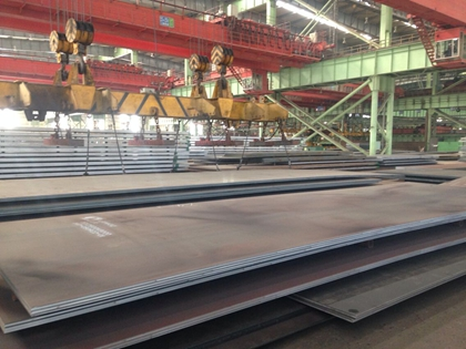 JIS G3106 SM490YB hot rolled steel plates for welded structure