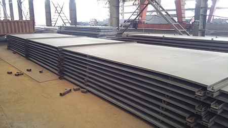 JIS SS490 hot rolled carbon steel plate