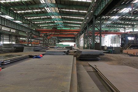 JIS G3115 SPV355 steel plate for pressure vessel