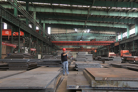 JIS G 3106 SM400C hot rolled structural steel plates