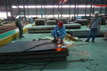 China TB/T 1979 05CuPCrNi corten steel plates/ weather resistant steel plates
